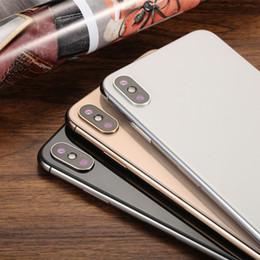 "4g chinesisches handy Rabatt Neueste Goophone XS MAX 6,5 ""Vollbild-ROM 16 GB RAM 1 GB Echtgesicht ID MTK6580 Quad Core Dual-SIM-Android 7.0 Smartphone Entsperrt Handys"