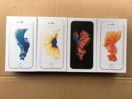 Коробки для сотовых телефонов Розничная коробка для Iphone 6s 6s plus с полным комплектом аксессуаров зарядное устройство + наушники + кабель версия для США и ЕС от
