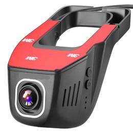 Visión nocturna oculta online-V24 Grabadora de conducción oculta 130 grados Wireless Car Dash Cam 1080 P Full HD versión nocturna G-Sensor Grabadora de conducción para coche Dvr