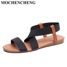 af3e316c2f6 green cross men sandals 2019 - Large Size Shoes Women Sandals for Summer  Peep Toe Slip