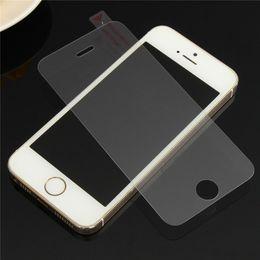 2019 protectores de pantalla mate iphone 5s Sin huella dactilar Protector de pantalla de cristal templado premium para iPhone X XS Max XR 8 7 5 SE 5s 6 6S Plus película protectora de vidrio mate A6 rebajas protectores de pantalla mate iphone 5s