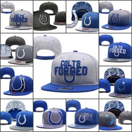 dbd8136835f61 2019 Indianapolis Adjustable Hats Colts Embroidery Team Logo Snapback All  Team Wholeasle Knit Beanies Caps One Size discount obey hats