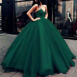 2019 vestidos de vestidos de quinceañera Princesa vestido de baile quinceanera vestidos verde longo vestidos de noite até o chão para o doce 16 ocasião especial vestidos de festa de formatura vestidos de vestidos de quinceañera barato