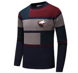 suéteres de moda Rebajas Marca de moda de la moda bordado de la letra los géneros de punto de invierno Ropa para Hombres suéter Hombres diseñador de moda sudaderas XXS Gucci