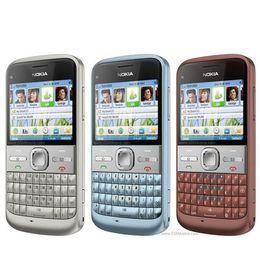 Оригинал восстановленные разблокировать Nokia E5 мобильный телефон камера 3G WCDMA WIFI Bluetooth дешевые GSM сотовый телефон смартфон от
