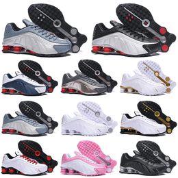 frauen basketball schuhe verkauf Rabatt Nike Air Shox R4 Herren Trainer Shox 301 Dreifach Weiß Schwarz Blau Weiß Rot Weiß Silber Rot Damen Hot Sale Sportschuhe