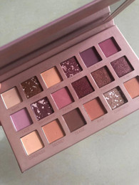 2020 тени для век 18 цветов NEW НЮ 18 цветов Тени Shimmer Матовый красоты Макияж Палитра теней 18 цветов Марка ePacket На складе Real Pictures скидка тени для век 18 цветов