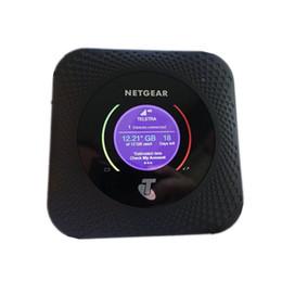 Gigabit a doppia banda online-4G LTE Netgear Nighthawk M1 MR1100 4GX Gigabit LTE Mobile Dual-Band Router (sbloccato) DHL spedizione gratuita