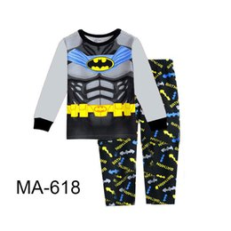 Garçons en Gros Super Heros Pyjamas Ensembles 2019 Enfants Cartoon Pyjamas Enfants Printemps Pyjamas Ensembles Pour 2-7Y MA-618 ? partir de fabricateur