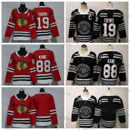 3943056af Youth Women 2019 Winter Classic Chicago Blackhawks 19 Jonathan Toews Jersey  Kids 88 Patrick Kane Jersey Boys Ladies Lady Ice Hockey Jerseys