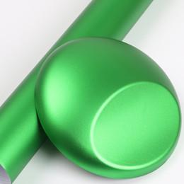 Tela de burbujas online-envoltura de tela de vinilo metálico envoltura de auto envoltura de vinilo colores de envoltura de automóvil con Air Bubble 1.52x18m / Roll 4.98x59ft
