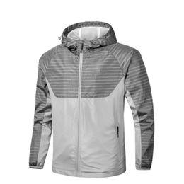 2019 tad jacke farbe Famous Sport Marke SweatshirtHoodie Männer-Jacken-Mantel Langarm Sport Zipper Windjacke Kleidung Wasserdicht Atmungssoftshell Jacke