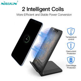 Cargador inalámbrico rápido de 10W NILLKIN, base de carga inalámbrica rápida Qi Stand para iPhone XS / XR / X / 8/8 Plus para Samsung Note 8 / S8 / S8 Plus desde fabricantes
