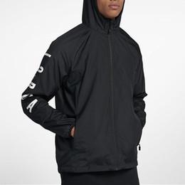 Mens Designer Giacche Marca Sport Giacca a vento Lettera Stampa Cerniera Cappotto Casuale Giacca sportiva da corsa Active giacca da corsa JN52019 cheap active jackets da giacche attive fornitori
