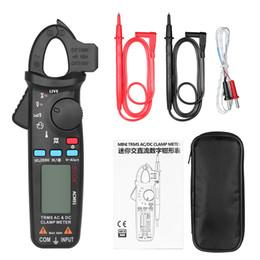 medidor de grampo rms Desconto AC / DC Voltímetro Amperímetro Multímetro Digital de tensão Atual Clamp Meter Capacitância Continuidade Temperatura Tester Freqüência