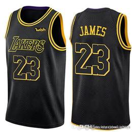 a6e690b37 23 LeBron James Lakers 2019 Los Angeles James Jersey New Lonzo 2 Ball Kyle  0 Kuzma 14 Ingram Basketball Jerseys