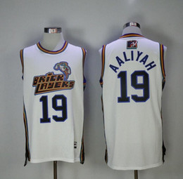 jersey rock Coupons - Men's 19 Aaliyah Bricklayers 1996 MTV Rock N Jock Jersey Movie Basketball Jersey Fashion All Stitched High Quality Free Shipping