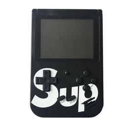 Игры lcd онлайн-Новая портативная игровая консоль SUP Sup Plus Портативный ностальгический игровой плеер 8 бит 168 400 в 1 FC Игры Цветной ЖК-дисплей