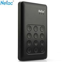 "2019 мобильный телефон hotsale New Year Netac Portable 1TB 2.5"" USB 3.0 AES 256-bit Hardware Encryption Password Protection Hard Drive Disk For Data Security"