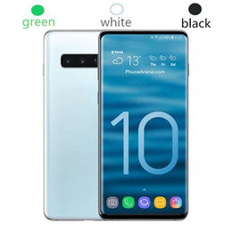 2019 tv mobiltelefon wifi Goophone WCDMA 3G S10 S10 + 6,3 Zoll MTK6580 Entsperrter Handy-Viererkabelkern Android 7.0 1G Ram 8G Rom Smartphone-Handy rabatt tv mobiltelefon wifi