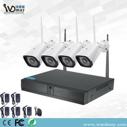 Wdm CCTV 4CH 1080P Système de caméra de sécurité à domicile sans fil Wifi avec caméras de sécurité IP Bullet extérieures, 4CH 1080P HD NVR ? partir de fabricateur