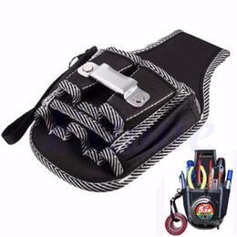 Canada Gros-9in1 électricien taille poche ceinture sac à outils sac tournevis utilitaire titulaire titulaire électricien simple poches multifonctions Offre