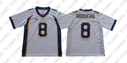 3cc31f02a Cheap custom Aaron Rodgers Jersey  8 California Golden Bears Football Jersey  White Stitched Customize any number name MEN WOMEN YOUTH XS-5XL