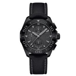роскошные часы мужские хронограф кварцевые часы классический стиль полный ремешок из нержавеющей стали 5 атм водонепроницаемый супер светящийся япония ВК движение от