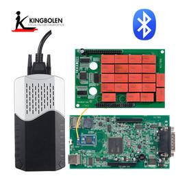 Strumento di diagnostica TCS Bluetooth 2015.R3 2016.R1 Strumento di diagnostica CarTruck gratuito Keygen V3.0 NEC 9241A OBD2 OBDII Scanner da yamaha r1 fiat fornitori