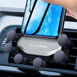 держатель силиконовой панели Скидка Гравитация Автомобиль Универсальный Силиконовый Автомобиль Мобильный Телефон Кронштейн Vent Grip GPS 360 Dashboard Стенд Держатели Для Xiaomi Huawei
