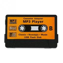 2019 lettore mp3 di ragazzi del mp3 Retro TF Forma nastro sveglio del USB Radio Mini bambini ricaricabile Port Lettore MP3 sconti lettore mp3 di ragazzi del mp3