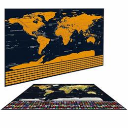 стикеры для писем с животными Скидка 82x59 см большой размер Deluxe Edition скретч - карта стикер стены с скретч-слоем визуальный журнал путешествий для путешествий скретч-живопись