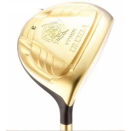 Katana golf club online-Novità Golf club KATANA VOLTIO NINJA Golf fairway wood 3/15 5/18 loft wood clubs Grafite shaft R or S Freeshipping