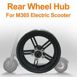 Canada Moyeu de roue arrière en aluminium avec moyeu de roue de scooter électrique avec axe d'origine pour pièces de scooter Xiaomi M365 supplier aluminum electric scooter Offre