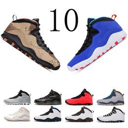 schwarzes leichtes zuckerguss Rabatt mit Kasten GUT Tinker 10s Cement Mens Basketball Shoes 10 Westbrook Stahlgrau Ich bin zurück Lazer Blue Sneaker size7-13 der neuen Herren kostenloser Versand