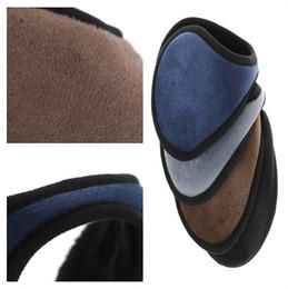 Серая одежда онлайн-1Pc Winter Ear Muff Unisex Ear Warmer Earlap Earmuff Earmuff Wrap Band Gift Black/Coffee/Gray/Navy Blue Apparel Accessories