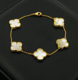 Pulseiras de cobre mulheres on-line-Cobre chapeamento flor do amor pulseira para mulher jóias com vermelho preto verde branco cor preta 18 cm de comprimento para as mulheres pulseira jóias