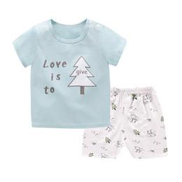 Jahre altes kleid lässig online-Kinder Kurzarm Anzug Baumwolle Casual Sommerkleid für Babys und Babys 05 Jahre alt Sommerkleid Großhandel und Vertrieb