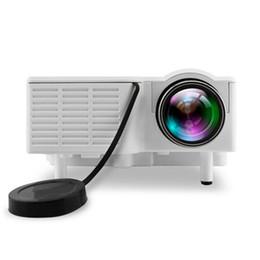tablet proiettore dlp Sconti Nuovo articolo Mini Portable UC28B proiettore 500LM Home Theater Cinema Multimedia Video proiettore LED Supporto USB TF Card