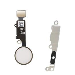 2019 botón de inicio Botón de inicio con cable flexible para iPhone 7 / 7plus Botón de inicio Flex + montaje de soporte de metal rebajas botón de inicio