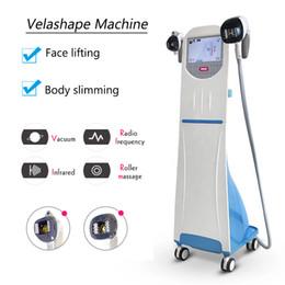 Rullo bio online-Velashape Vacuum Roller machine Modellamento del corpo Velashape Vacuum Weight Loss Bio RF Skin Tightening Beauty Machine 4 sonde