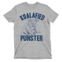 T-shirt pour homme koala d'anniversaire de punster koalafied drôle australien animal slogan slogan ? partir de fabricateur