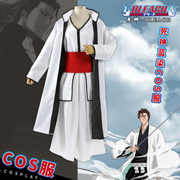 Gintama COS Clothes Support Weave Kimono Coat Haori Robe Bathrob Costume Gift