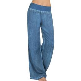 2d5a81051 Distribuidores de descuento Pantalones Holgados Negros De Las ...