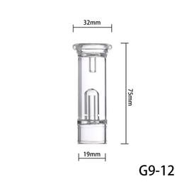 Vidro de substituição de cigarro eletrônico on-line-Greenlightvapes G9 Bolha de Água Filtro Dab Destacável Acessório De Vidro para GDIP Dip Caneta Vape Vaporizador Substituição de Cigarro Eletrônico