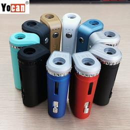 gemacht box mod Rabatt Authentische Yocan UNI Mod Batterie Universal Vape Mods für alle 510 Vape Patronen 650mAh VV Box Mod 100% Original E Zigaretten Verdampfer