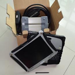 logiciel de diagnostic de voiture gratuit Promotion MB STAR C3 Scanner OBD2 MB STAR C3 + Ordinateur portable CF19 + 2014.12 logiciel SSD pour OBD2 rapide outil de diagnostic de voiture DHL Livraison gratuite