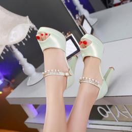 2019 новые сандалии для девочек Оптовая Мода Лето Новый Дизайн Peep Toe PU Ремень Сексуальные Сандалии Высокие Каблуки конфетка девушки толстый каблук сандали дешево новые сандалии для девочек