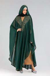 2019 vestidos de tamanho mais veludo Luxo Dubai Abaya Kimono Cardigan muçulmano Hijab Vestido turco roupa islâmica para mulheres Kaftan Robe Djellaba Femme Niqab