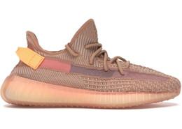 3f7be5783aee1 Adidas Yeezy Boost Mais novo 350 V2 Verdadeiro Formulário Hyperspace Argila  das mulheres dos homens Sapatos Casuais Beluga 2.0 Kanye Running Shoes mens  ...